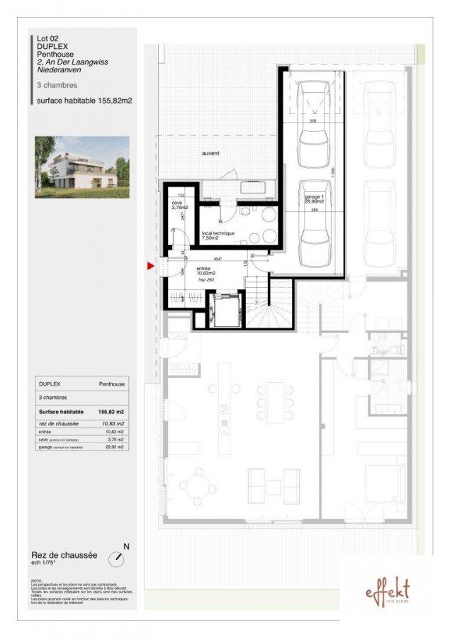 acheter penthouse 3 chambres 153.94 m² niederanven photo 7