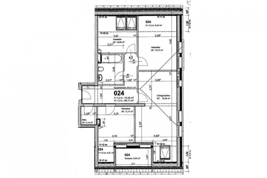 acheter appartement 3 chambres 83.41 m² nocher photo 1