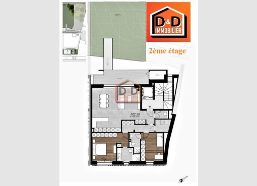 Apartment for sale 2 bedrooms in Luxembourg (LU) - Ref. 6906143