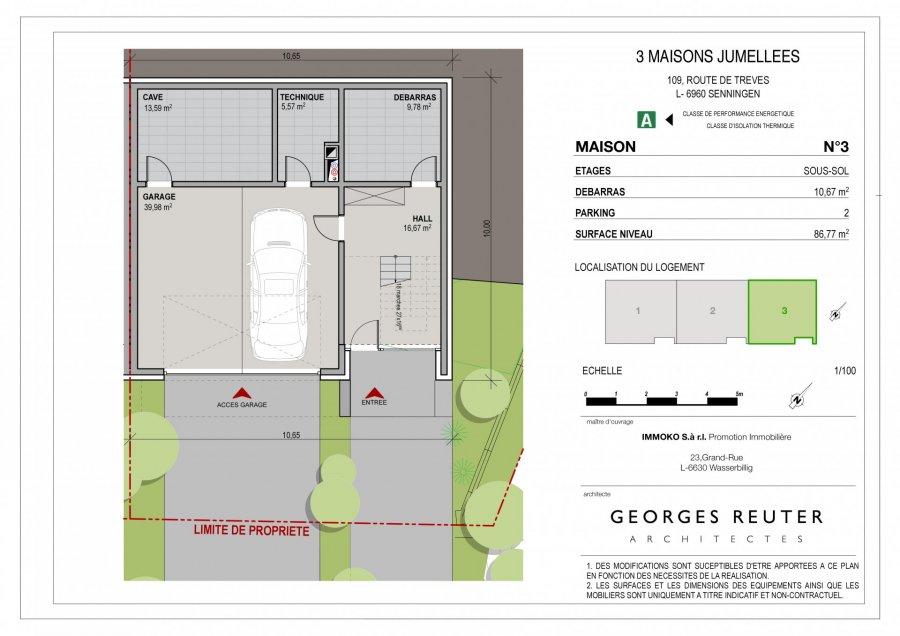 house for buy 3 bedrooms 177 m² senningen photo 3