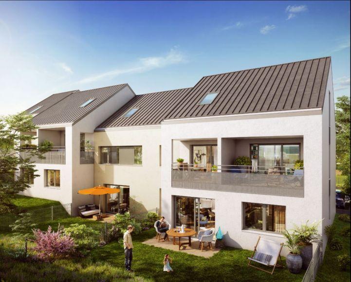 acheter appartement 3 pièces 63.3 m² metz photo 1