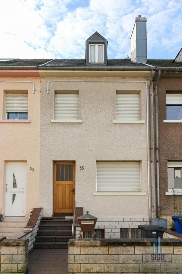 acheter maison mitoyenne 2 chambres 90 m² differdange photo 1