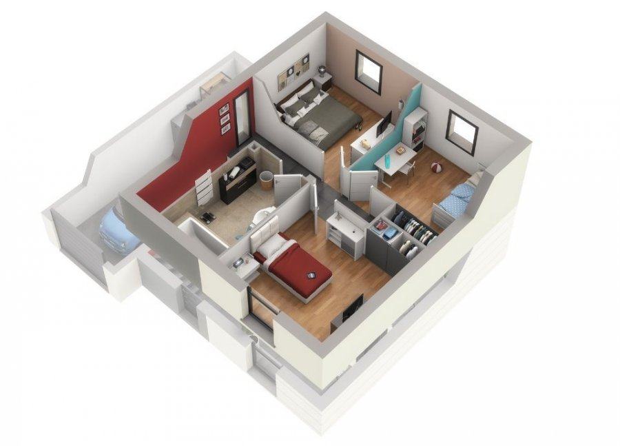 house for buy 1 room 102 m² woippy photo 7