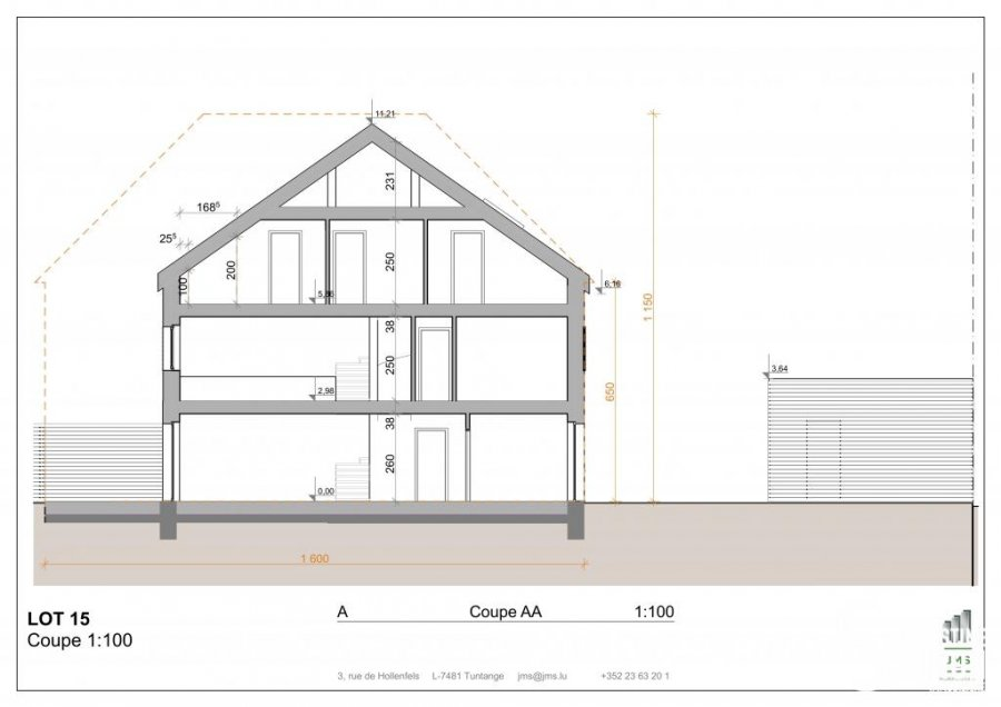 acheter maison individuelle 3 chambres 276 m² brouch (mersch) photo 6