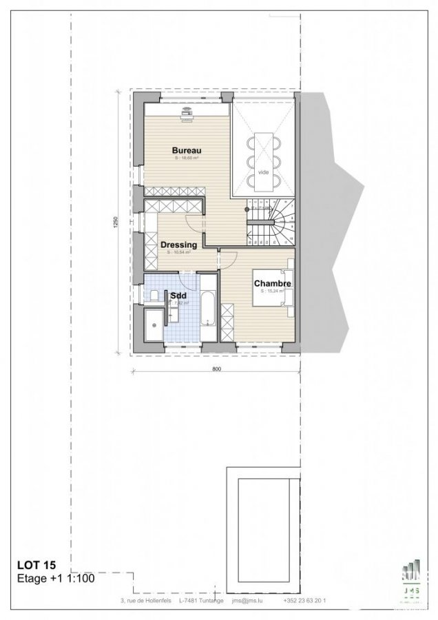 acheter maison individuelle 3 chambres 276 m² brouch (mersch) photo 4
