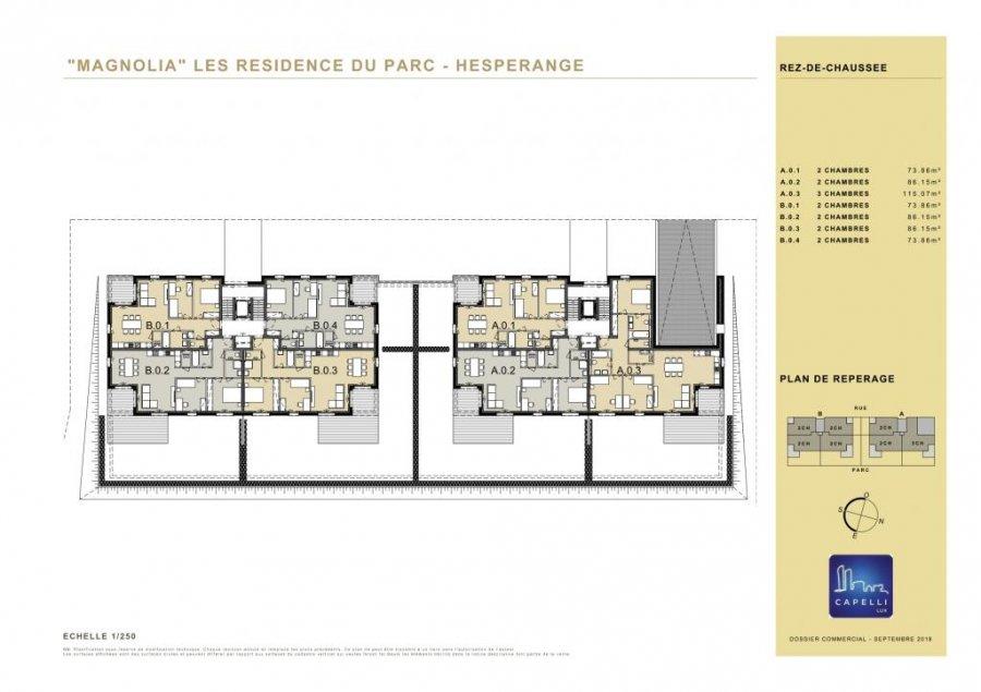 acheter appartement 2 chambres 73.86 m² hesperange photo 6