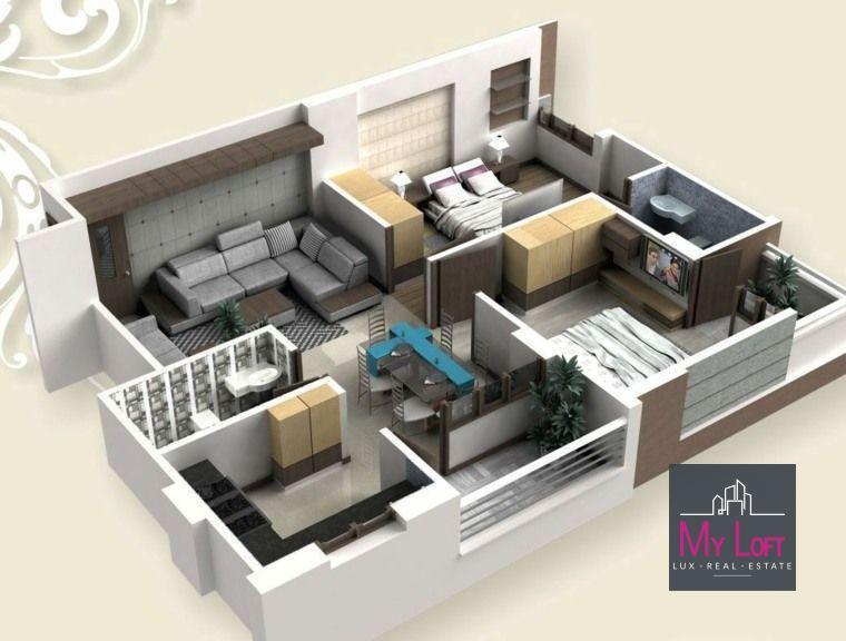 acheter appartement 3 chambres 115 m² differdange photo 1