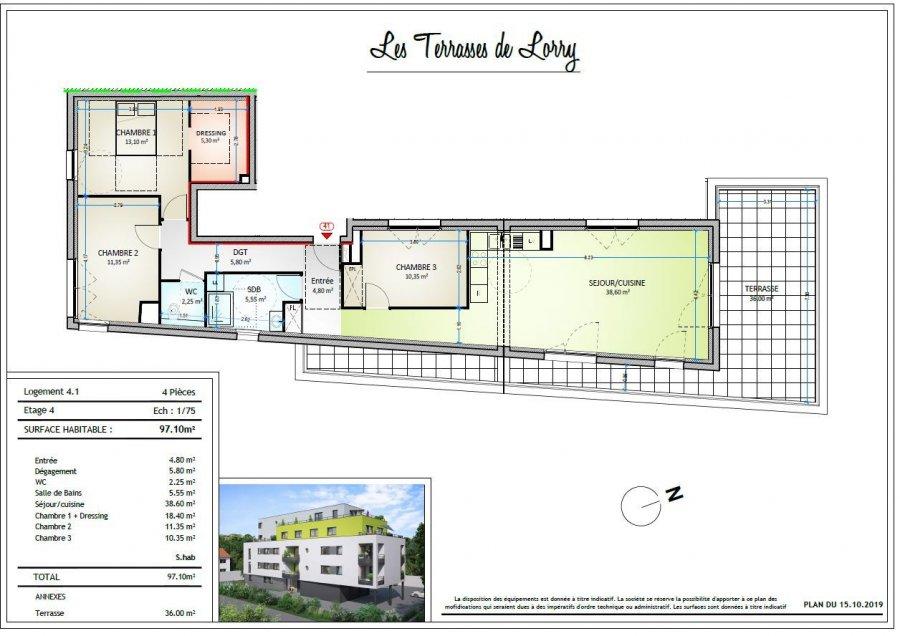 acheter appartement 4 pièces 96 m² metz photo 4