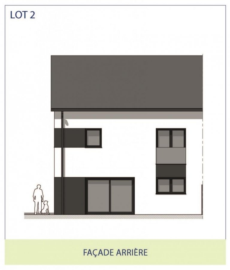 acheter maison jumelée 3 chambres 167 m² rippweiler photo 3