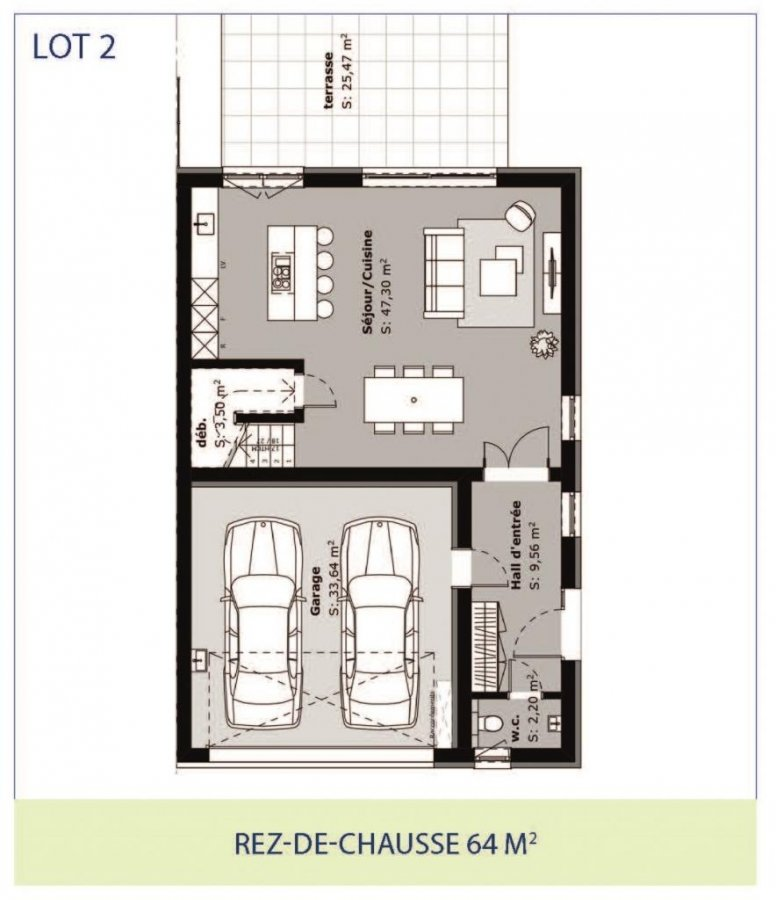 acheter maison jumelée 3 chambres 167 m² rippweiler photo 7