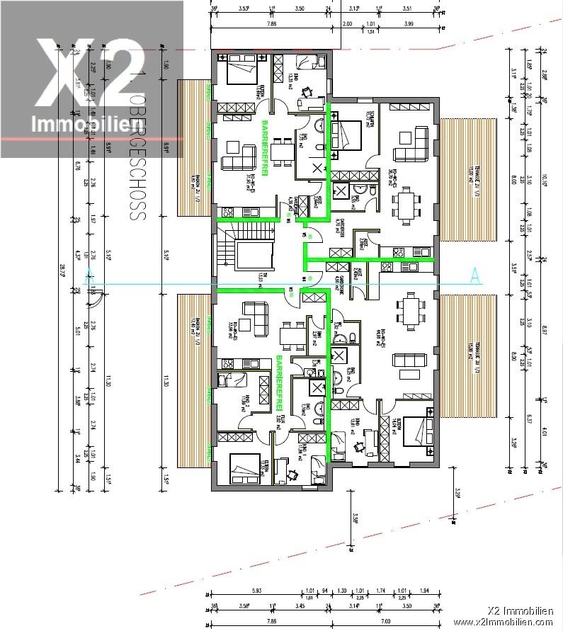 wohnung kaufen 2 zimmer 72.82 m² trier foto 2