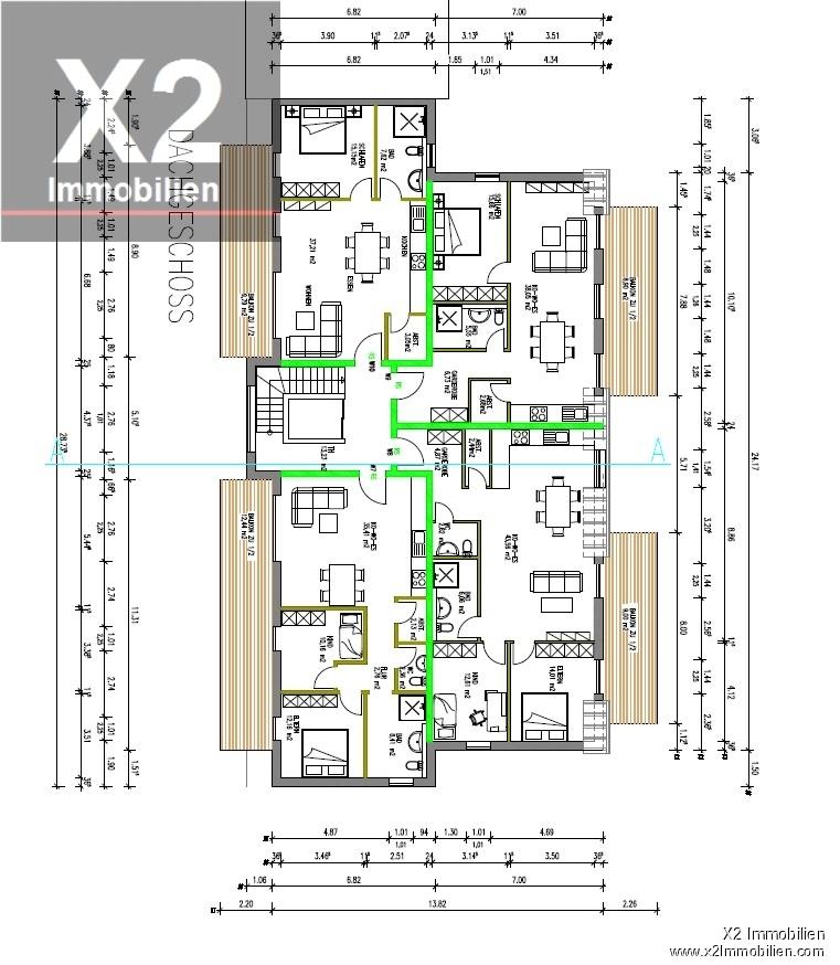 wohnung kaufen 2 zimmer 72.82 m² trier foto 3