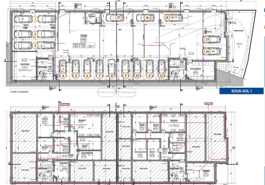 acheter appartement 2 chambres 120.18 m² moestroff photo 4