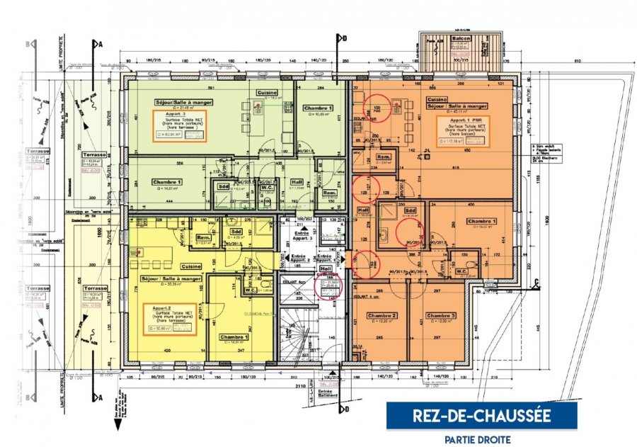 acheter appartement 2 chambres 120.18 m² moestroff photo 7