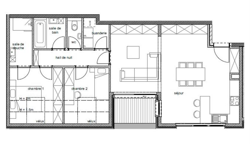apartment for buy 2 rooms 93 m² arlon photo 2
