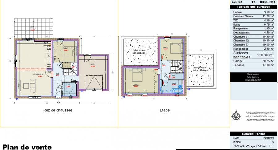 acheter maison 4 pièces 110.1 m² metz photo 2
