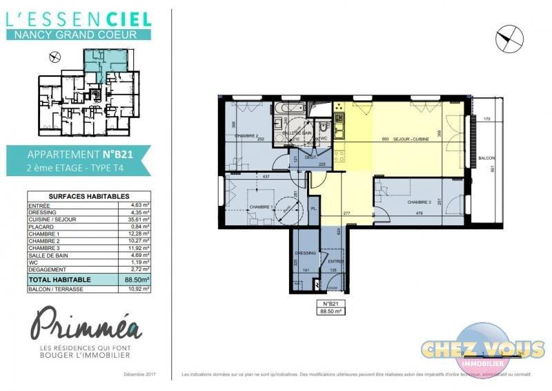 acheter appartement 4 pièces 88.5 m² nancy photo 1