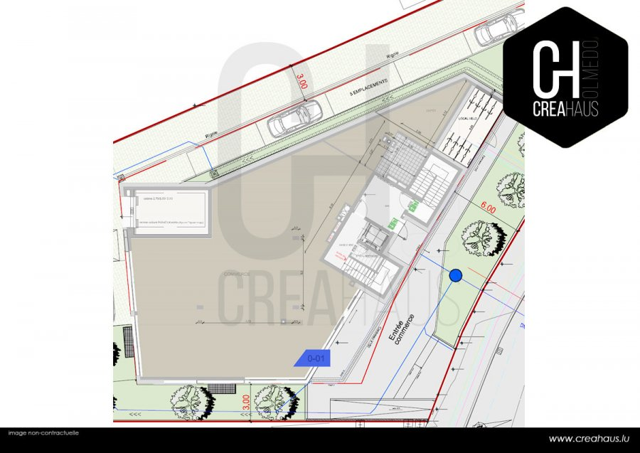 acheter local commercial 0 chambre 238.01 m² mamer photo 2