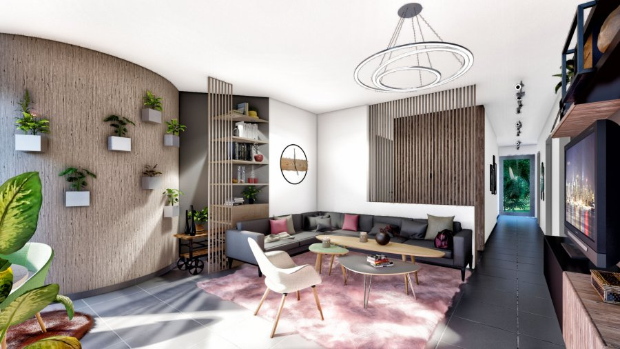 acheter appartement 1 chambre 62.77 m² pétange photo 4
