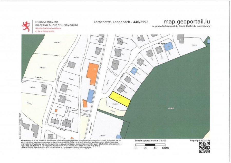 Terrain constructible à vendre à Larochette