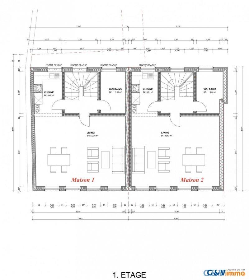 acheter maison 3 chambres 140 m² echternach photo 4