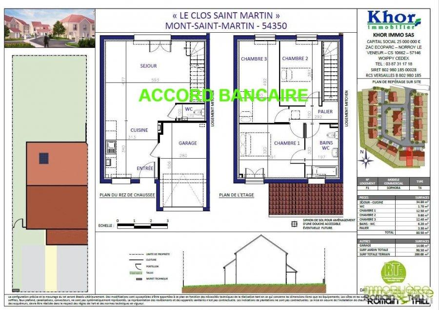 acheter maison jumelée 0 pièce 80.5 m² mont-saint-martin photo 6