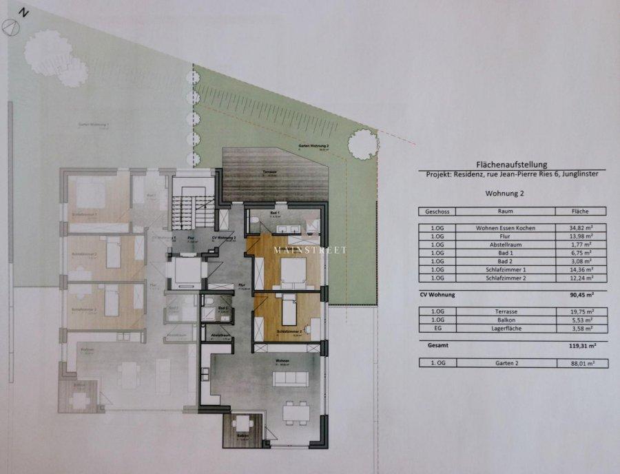 acheter appartement 2 chambres 119 m² junglinster photo 3