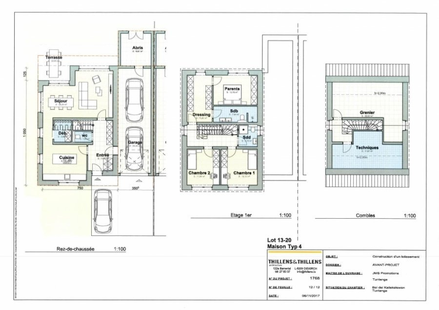 acheter maison jumelée 3 chambres 275 m² tuntange photo 3