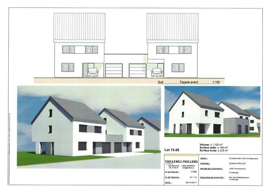 acheter maison jumelée 3 chambres 275 m² tuntange photo 4