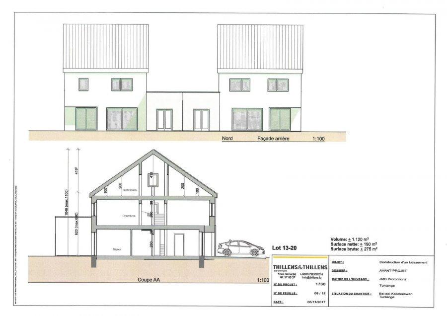 acheter maison jumelée 3 chambres 275 m² tuntange photo 5