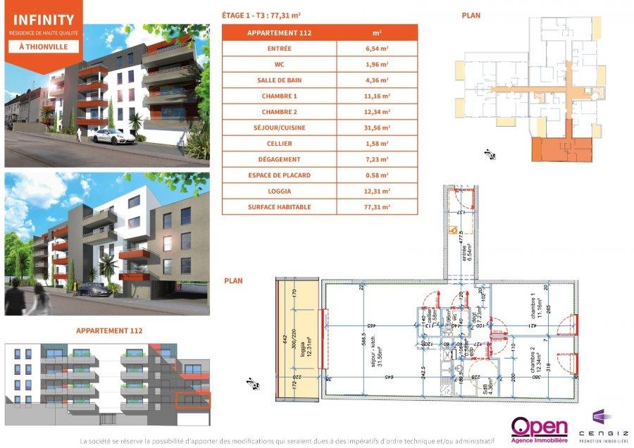 acheter appartement 0 pièce 0 m² thionville photo 2