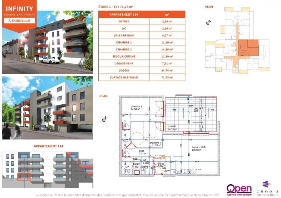 acheter appartement 0 pièce 0 m² thionville photo 4