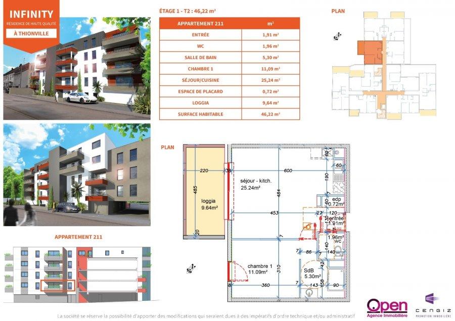 acheter appartement 0 pièce 0 m² thionville photo 5