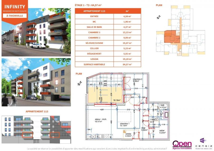 acheter appartement 0 pièce 0 m² thionville photo 6