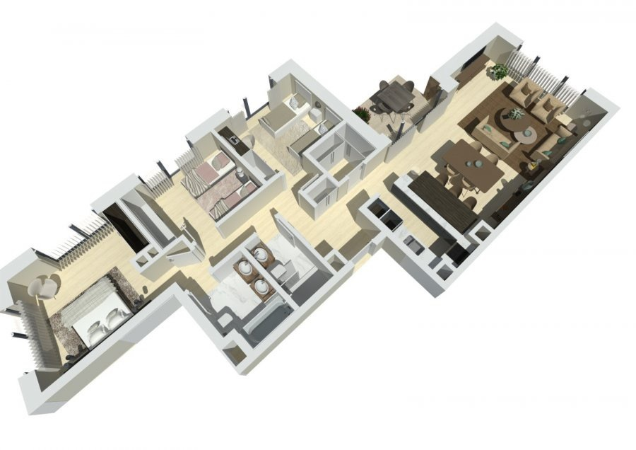 apartment for buy 3 bedrooms 109.45 m² schuttrange photo 1