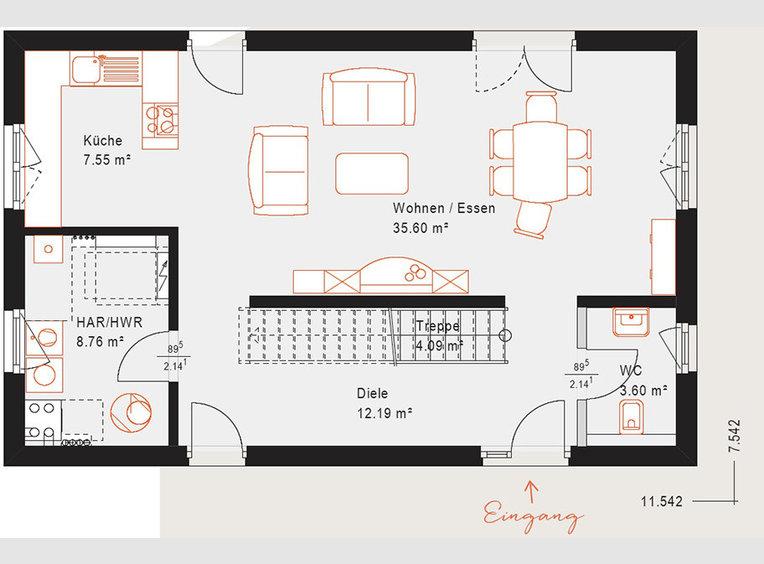 Maison à vendre 4 Pièces à Wadern (DE) - Réf. 6744399