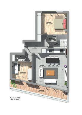 apartment for buy 0 room 84 m² huy photo 4
