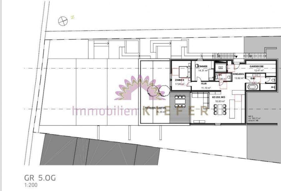 wohnung kaufen 3 zimmer 133 m² saarburg foto 2