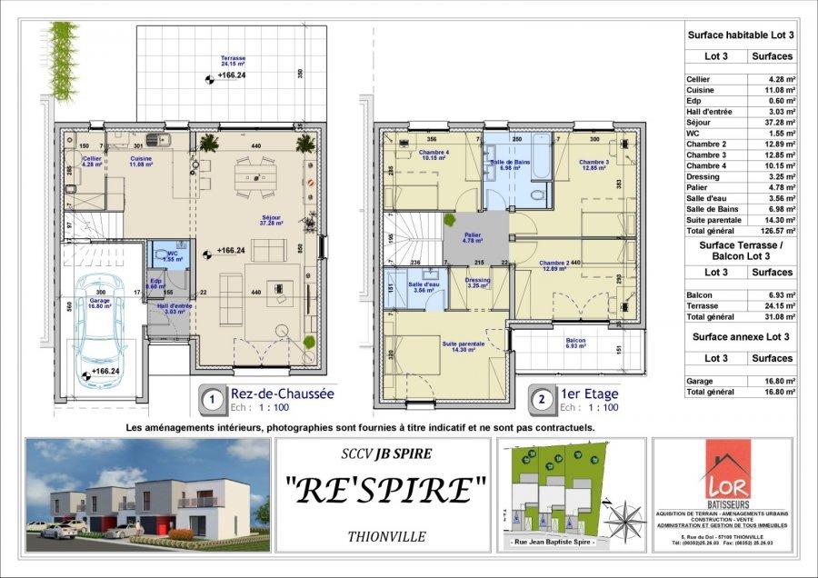 acheter maison 6 pièces 127 m² thionville photo 7