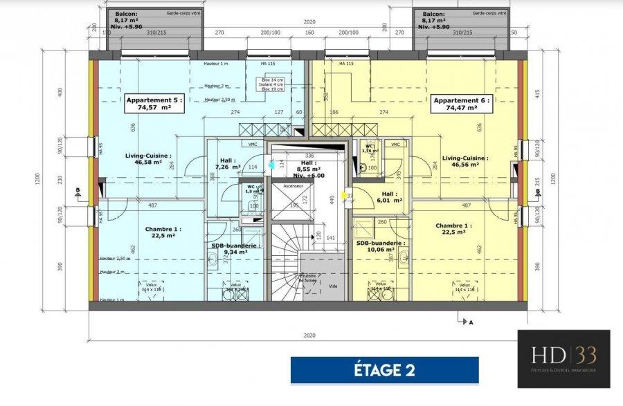 apartment for buy 1 bedroom 74.47 m² hupperdange photo 4