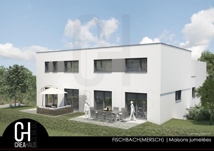 acheter maison jumelée 4 chambres 128.5 m² fischbach (mersch) photo 2