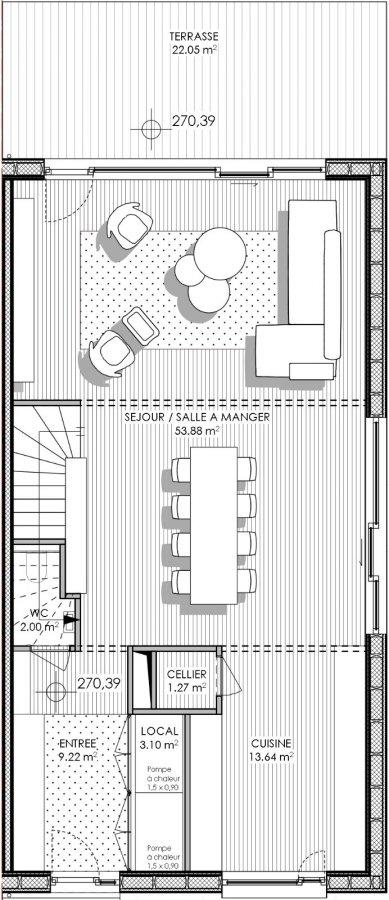 haus kaufen 4 schlafzimmer 208.7 m² peppange foto 6