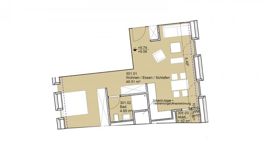 apartment kaufen 0 schlafzimmer 55 m² echternach foto 2