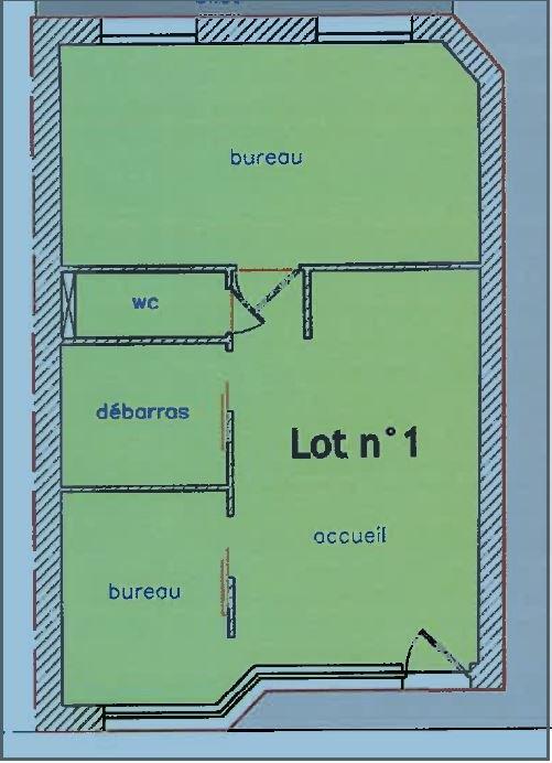louer local commercial 0 pièce 41.3 m² nancy photo 2