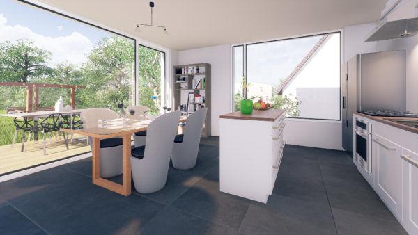 acheter duplex 2 chambres 90 m² holzem photo 2