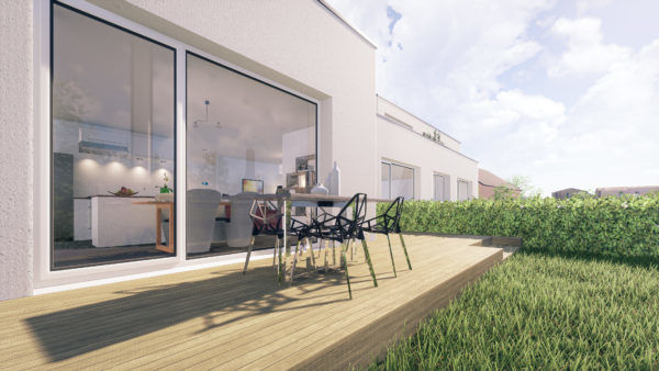 acheter duplex 2 chambres 90 m² holzem photo 5