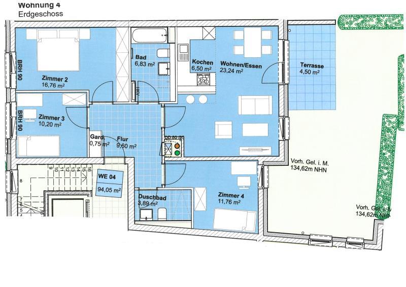 wohnung kaufen 4 zimmer 93.78 m² trier foto 4
