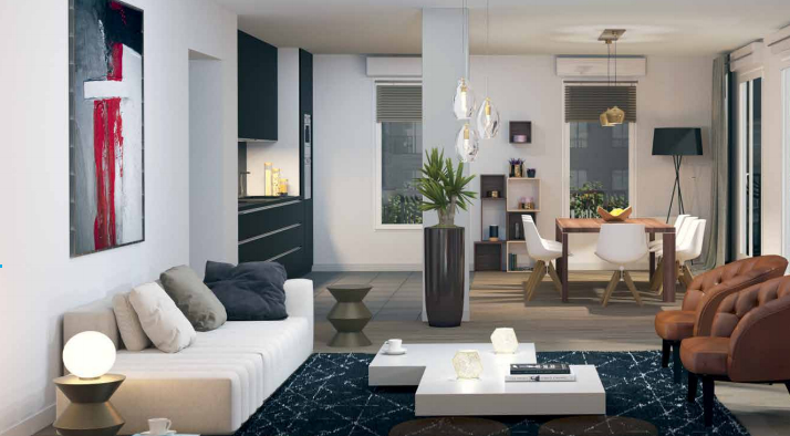 acheter appartement 4 pièces 73.78 m² tourcoing photo 1