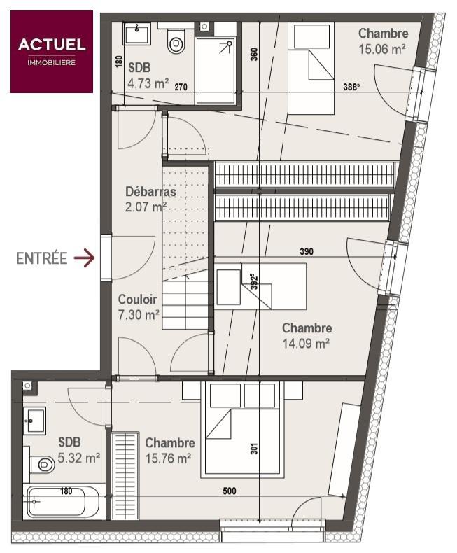 acheter duplex 3 chambres 186.5 m² bivange photo 2