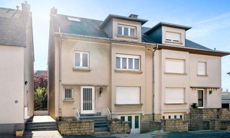 Immeuble de rapport à vendre 3 chambres à Luxembourg-Merl